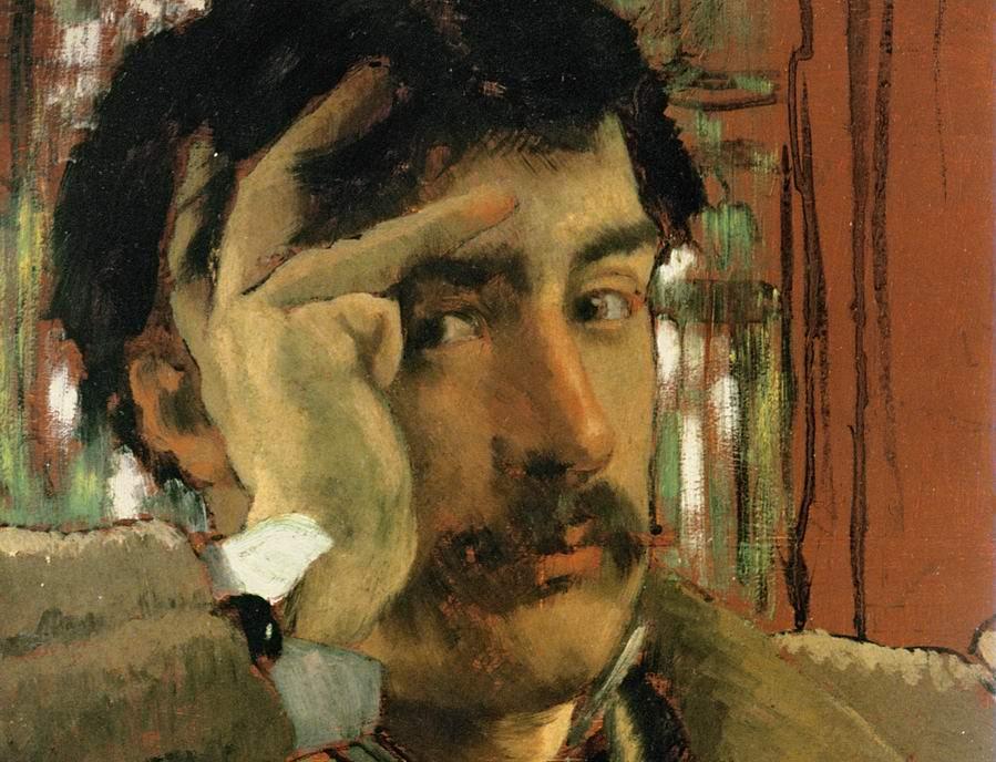 Tissot. Self-Portrait