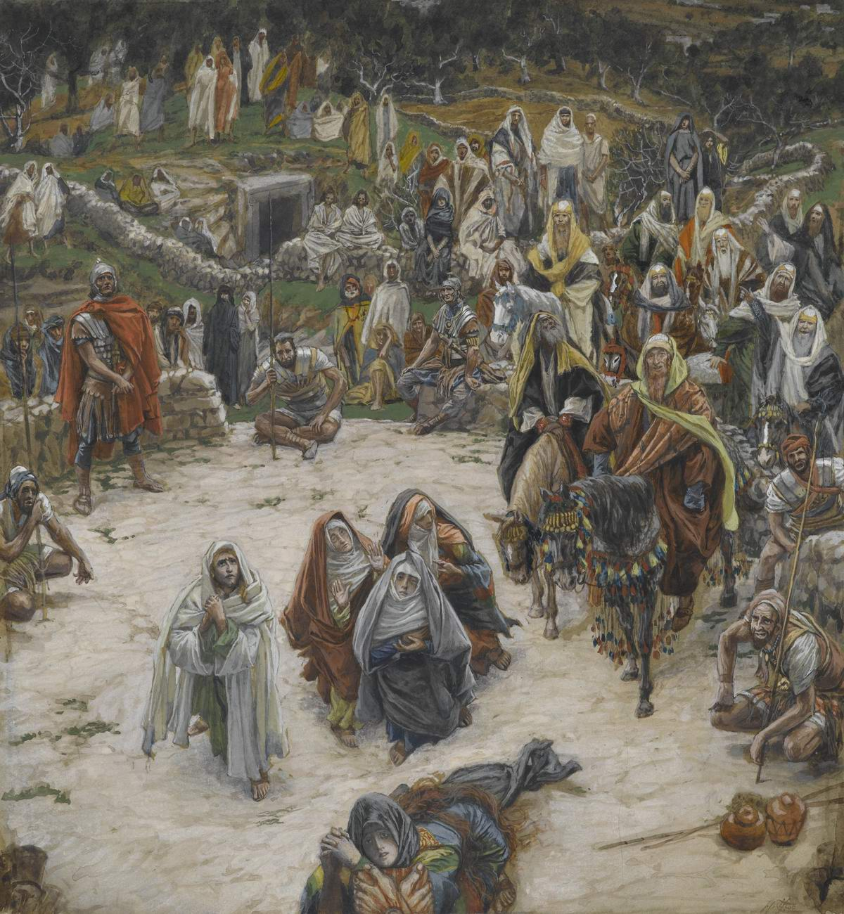 James Tissot. Crucifixion Seen from the Cross (1890)