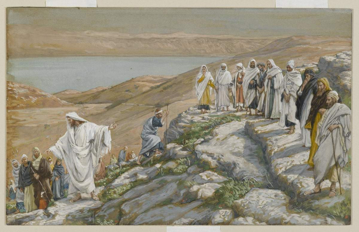 James Tissot. Ordaining of the Twelve Apostles-(1894)