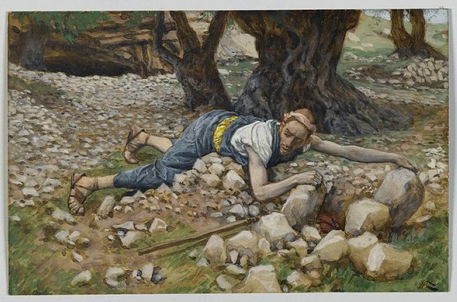 James Tissot. The Hidden Treasure