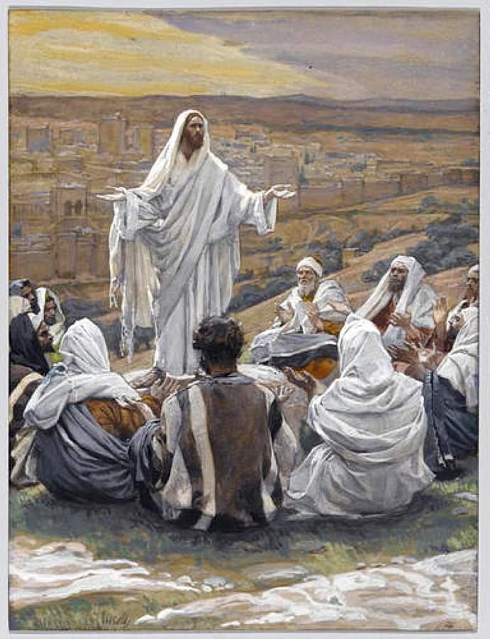 James Tissot. The Lord's Prayer (1896)